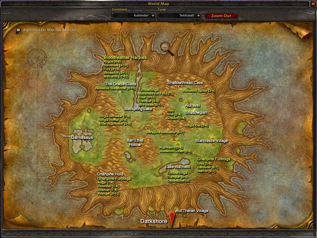 wow how to get to silithus crater from orgrimmar